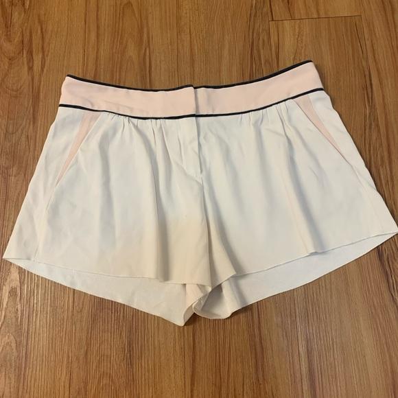 ARITZIA BABATON Blush Pink Flowy Shorts